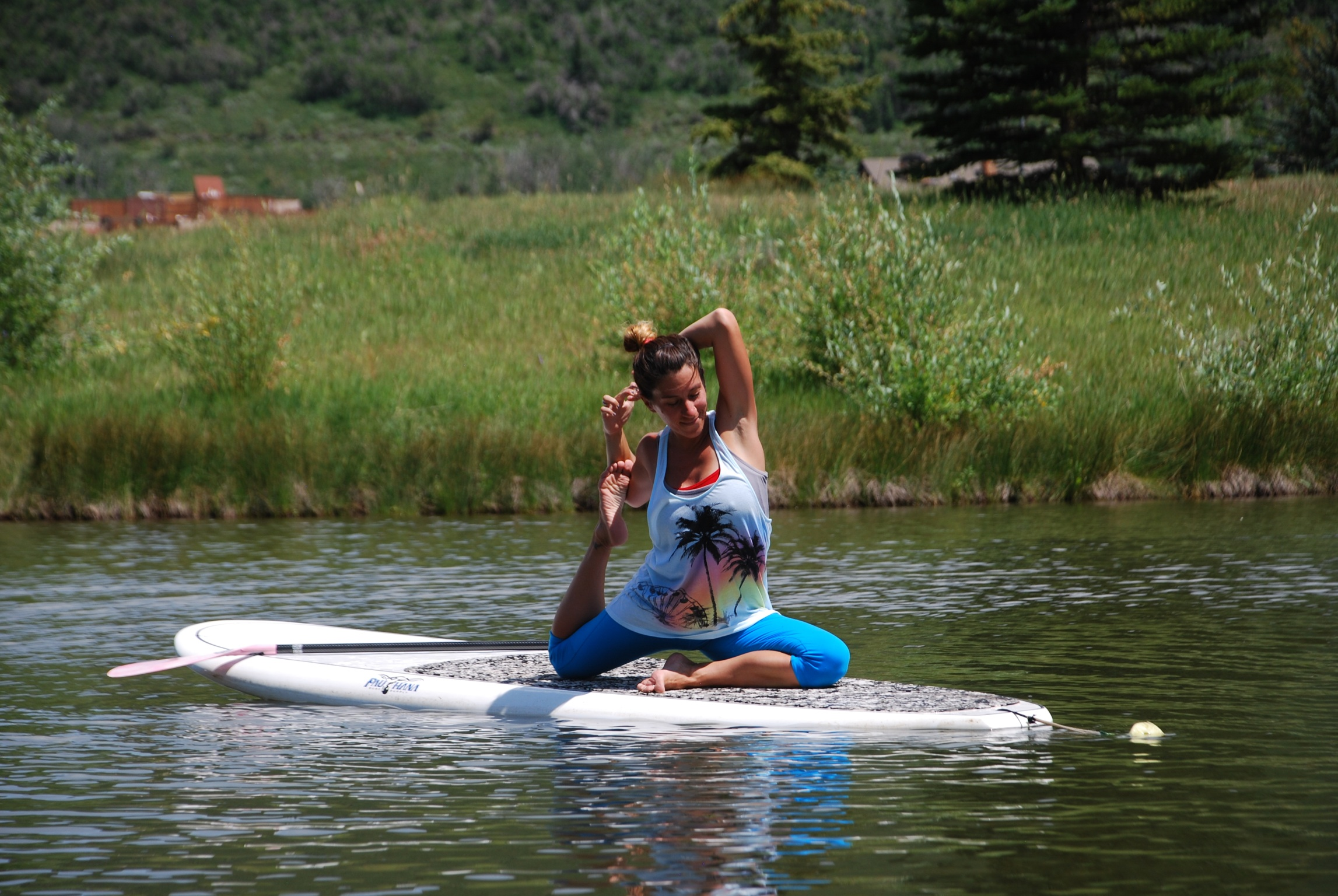 Joie yoga SUP