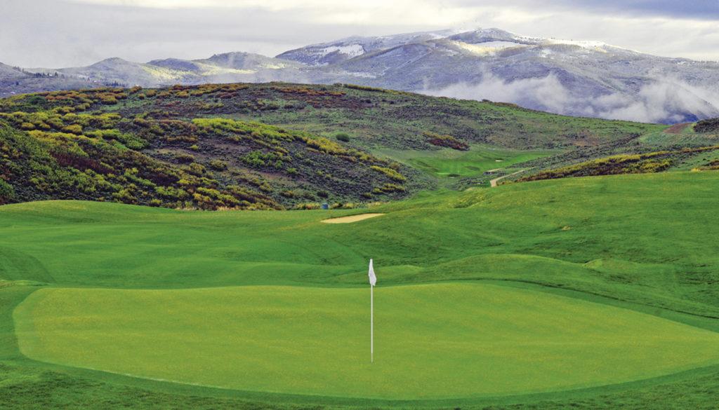 Pete Dye Canyon Golf Course
