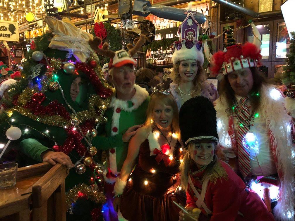 La Jolla Santa pub Crawl