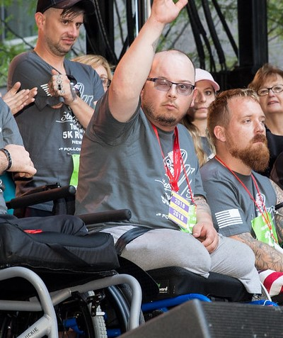 Injured veteran to receive home in Woodside Homes community
